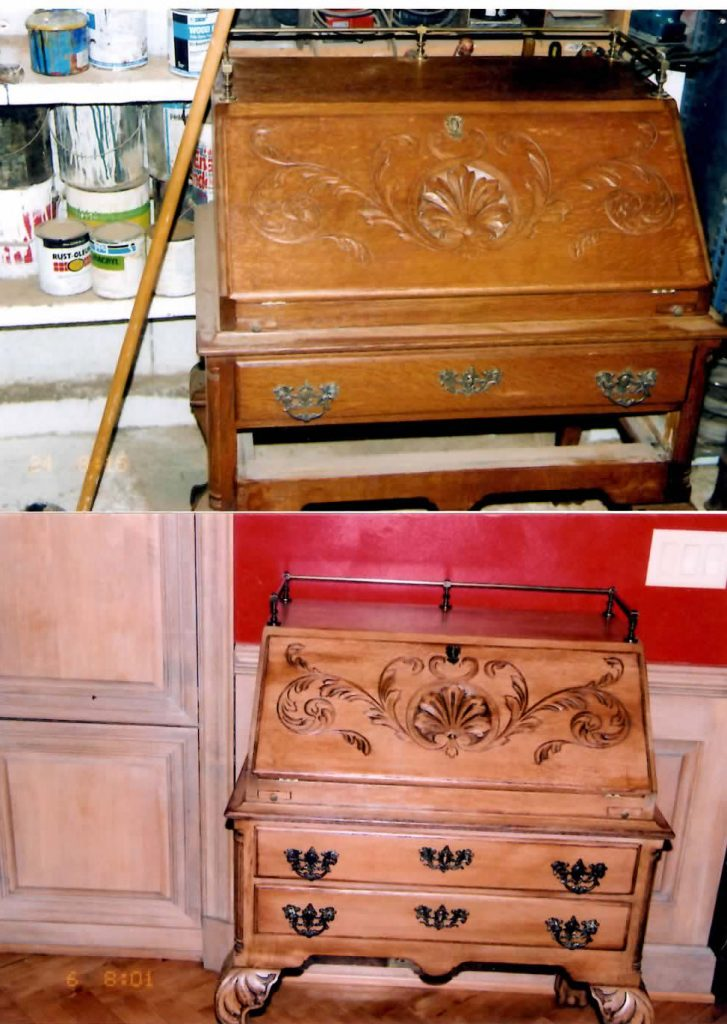 Secretary Desk Refinishing Project