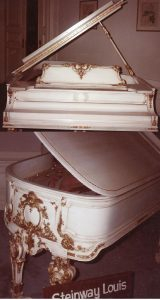 We Were Selected To Refinish This 1905 Steinway, Piano Was Hand Carved For F W Woolworth