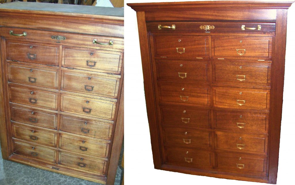 Antique Cabinet A Customer From West Bend Chose Us To Restore This Antique Cabinet To Fit Their Decor