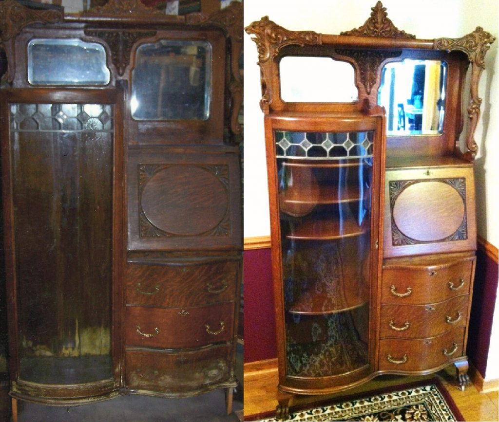 Side By Side We Were Chosen By A Jackson Customer To Restore This Piece To Fit Their Decor