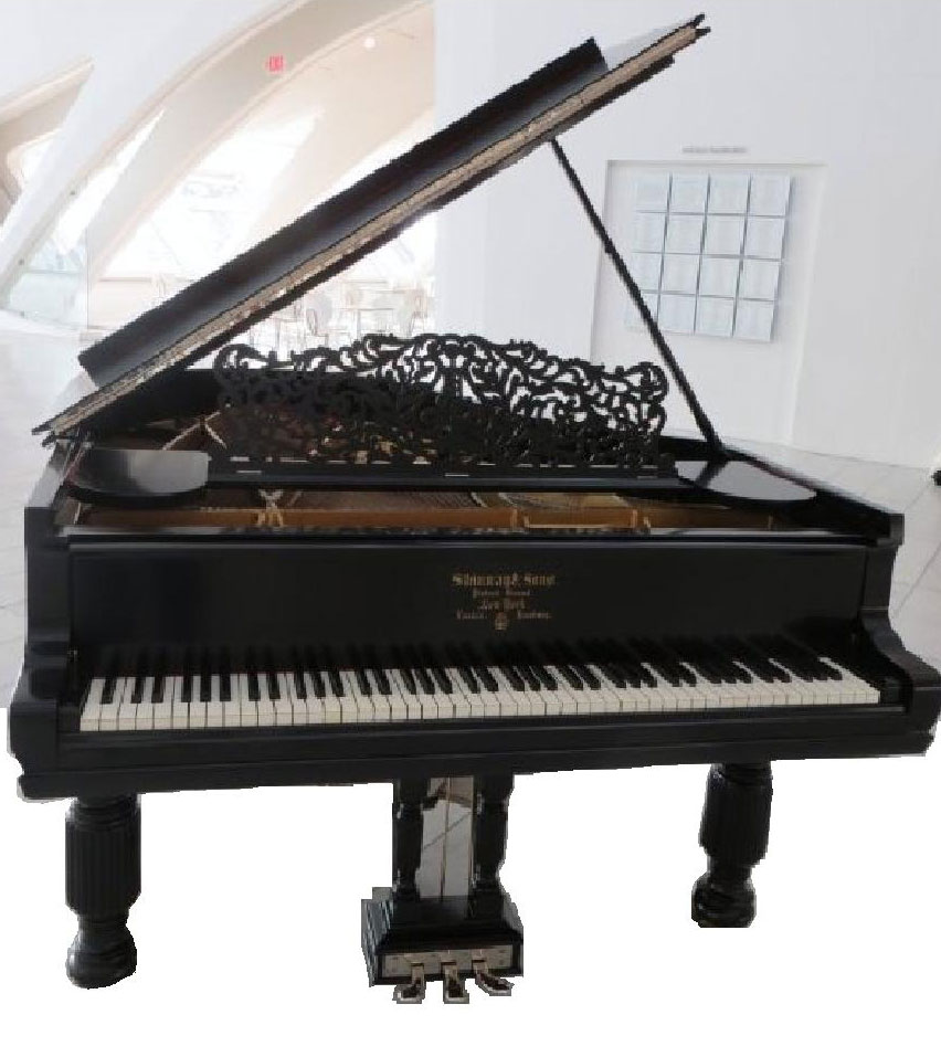 1894 Steinway Sons Grand Piano After