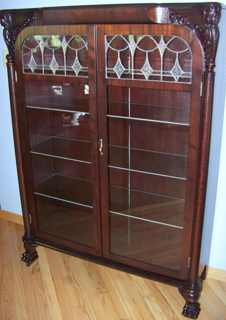 Antique Cabinet 2 After