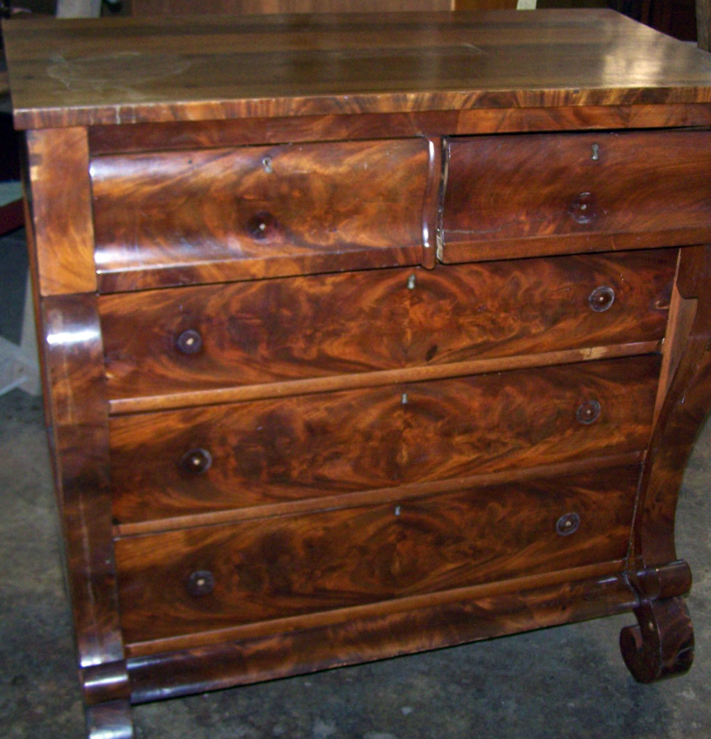 Antique Chest Before