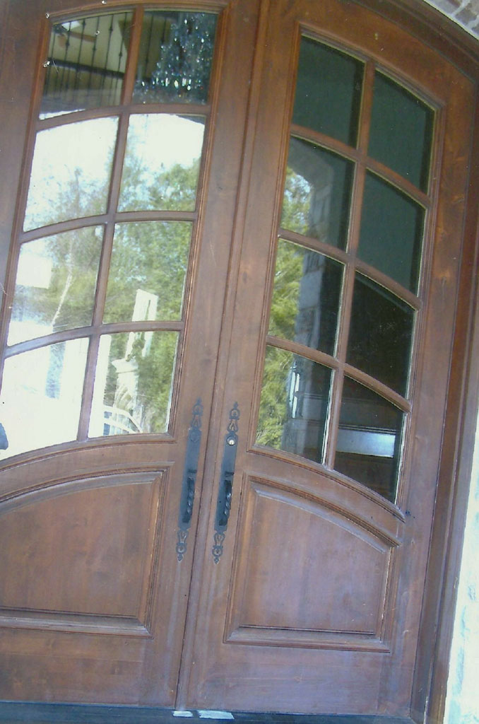 Residence Double Doors Before