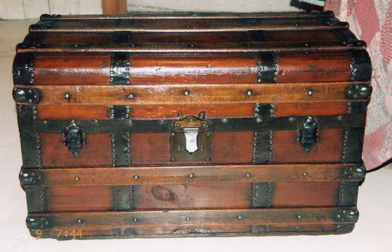 Antique Trunk After