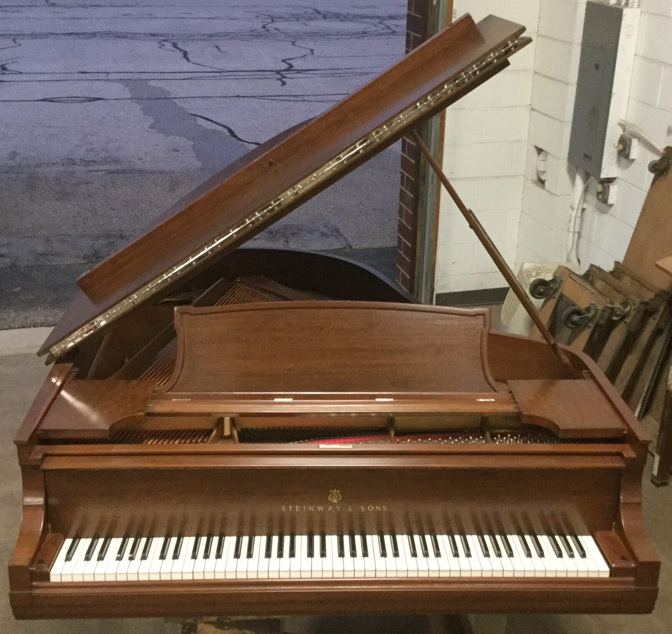 Pink Piano After