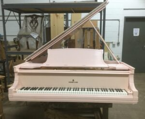 Pink Piano Before