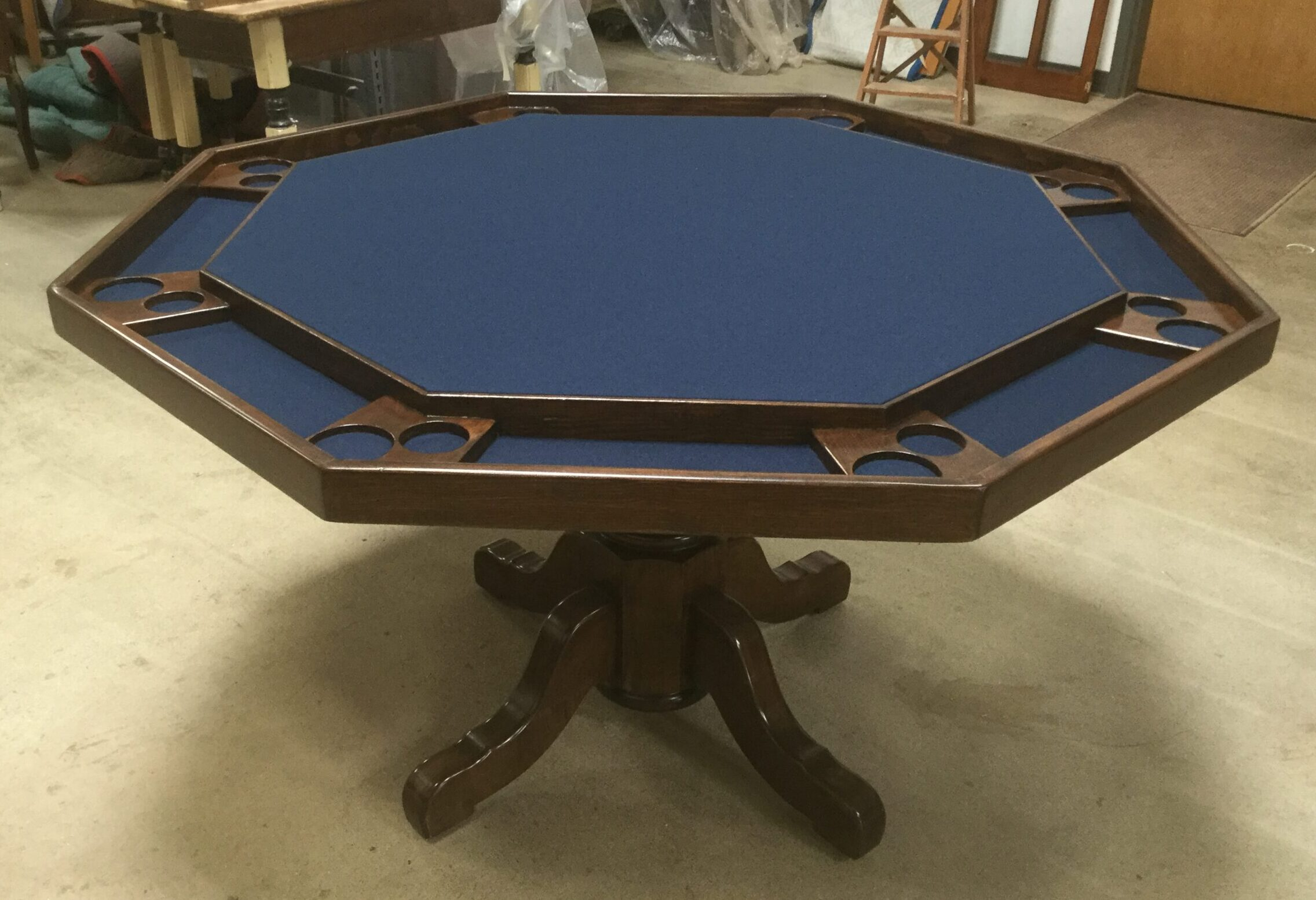 Poker Table After