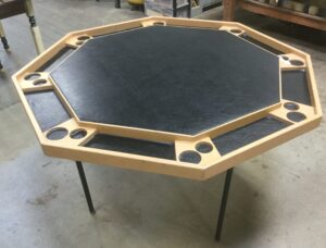 Poker Table Before