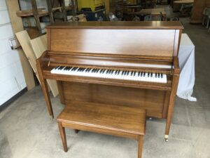 Upright Piano After